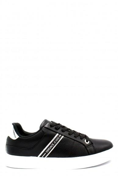 Versace jeans Sneakers F.gomma 40-45 Uomo Nero Casual