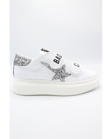 Shop art Sneakers F.gomma 36-40 bad girls club Donna Bianco Fashion