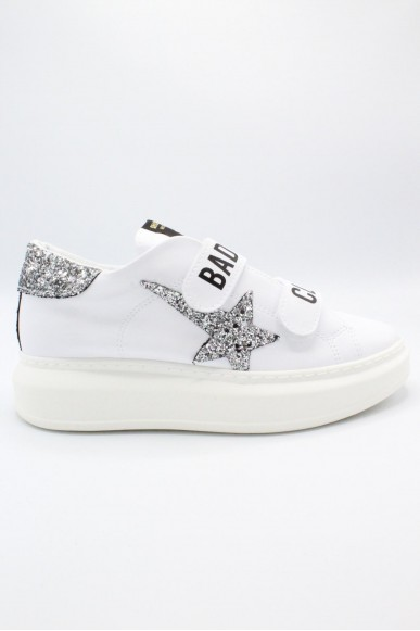 Shop art Sneakers F.gomma 36-40 bad girls club Donna Bianco Fashion