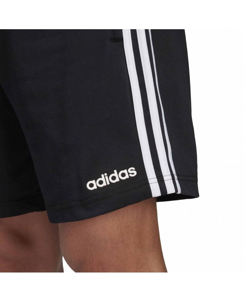 Adidas Shorts   E 3s shrt sj        black/white Uomo Nero Sportivo