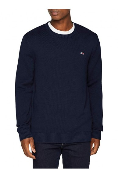 Tommy hilfiger Maglioni   Tjm tommy classics sweater Uomo Blu Fashion