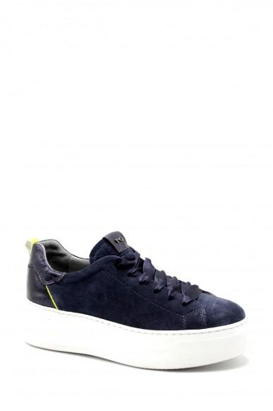 Nero giardini Sneakers F.gomma Velour incanto 225 rocher oceano t. Donna Blu Casual