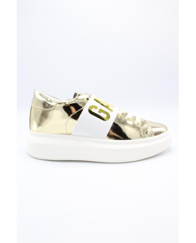 Shop art Sneakers F.gomma 36-40 game over Donna Oro Fashion