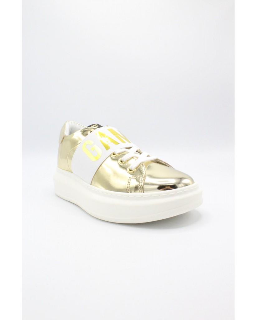Shop art Sneakers F.gomma 36-40 game over Donna Oro Fashion
