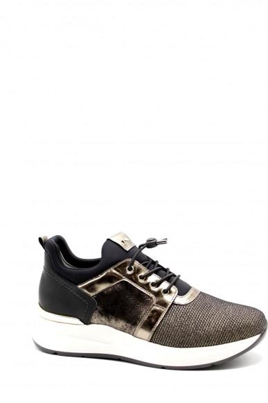 Nero giardini Sneakers F.gomma T.castadiva 30 canna t.brill antrac Donna Oro Casual