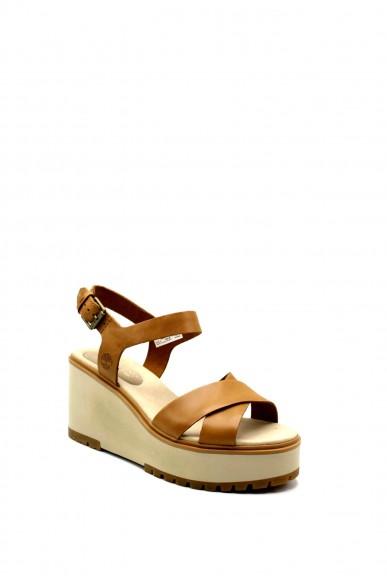Timberland Sandali F.gomma Koralyn cross strap Donna Cuoio Fashion