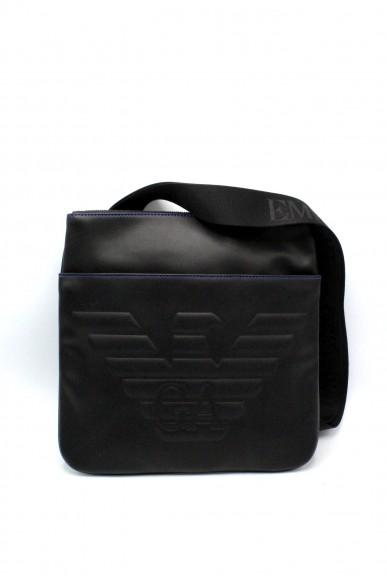 Emporio armani Tracolle - Tracolla con maxi logo y4m180 yg90j Uomo Black Fashion
