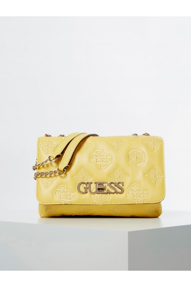 Guess Tracolle   Guess chic convertible flap Donna Giallo Fashion