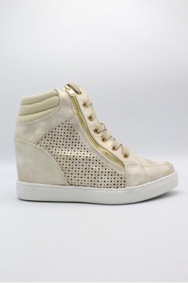 Mercante dei fiori Sneakers F.gomma 35/41 Donna Oro Fashion