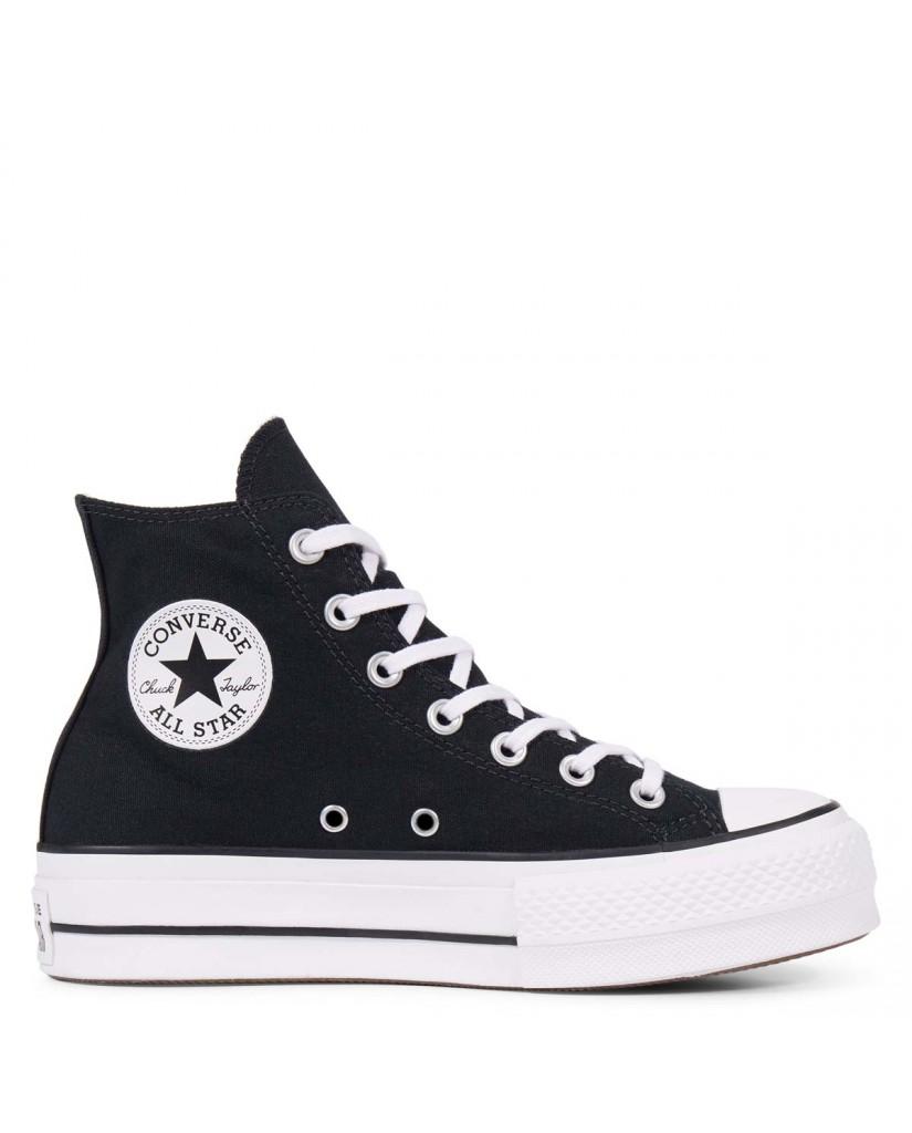 Converse Sneakers F.gomma Chuck taylor all star lift Donna Nero Fashion