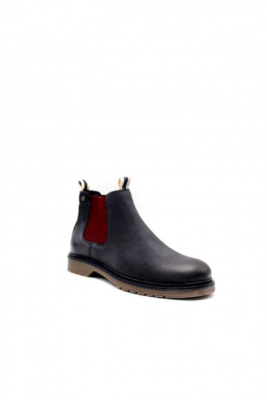 Jackejones Beatles F.gomma Jfwleyton leather navy blazer Uomo Blu Fashion