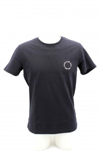Calvin klein T-shirt T-shirt uomo calvin klein Uomo Nero Casual