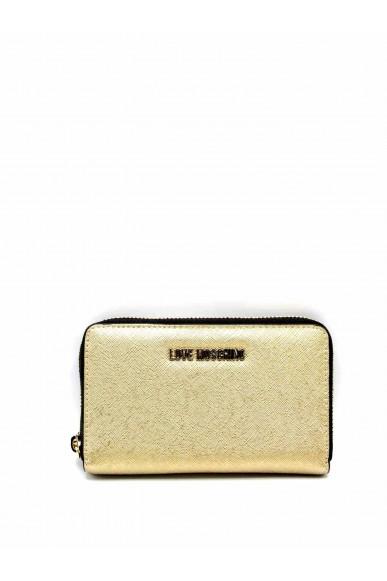 Moschino Portafogli   Zip around love moschino Donna Oro Fashion