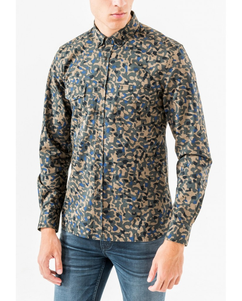 Antony morato Camicie   Long sleeved shirt Uomo Marrone