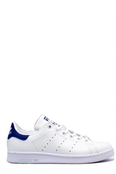 Adidas Sneakers F.gomma 35/39 stan smith royal Bambino Bianco-blu Sportivo