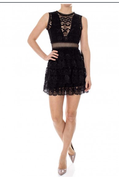 Guess Abiti   Gen dress Donna Nero Fashion