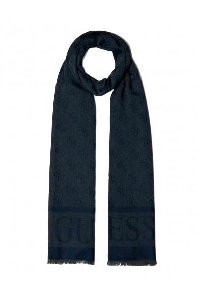 Guess Sciarpe   Logo lux scarf Donna Blu Fashion