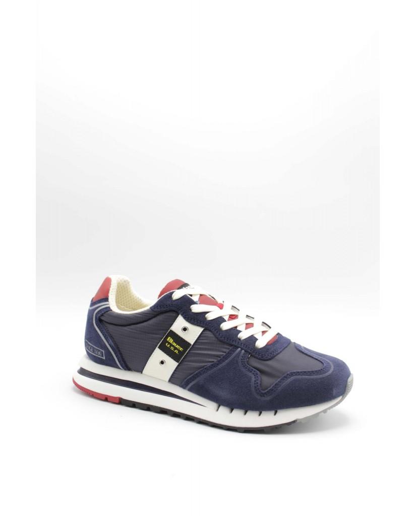 Blauer Sneakers F.gomma Quartz01 Uomo Blu Fashion