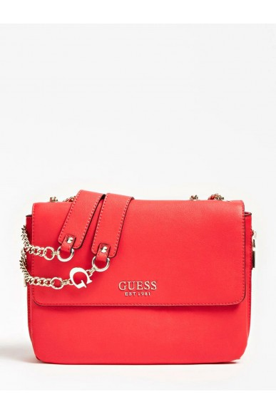 Guess Borse   G chain convertible xbody flap Donna Rosso Fashion