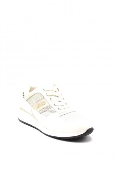 Liu.jo Sneakers F.gomma Connie 151 Donna Bianco Fashion