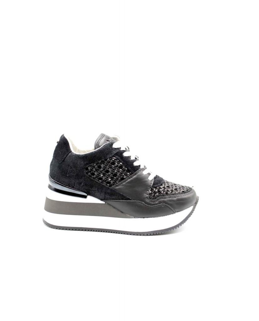 Apepazza Sneakers F.gomma Hedy Donna Nero Fashion