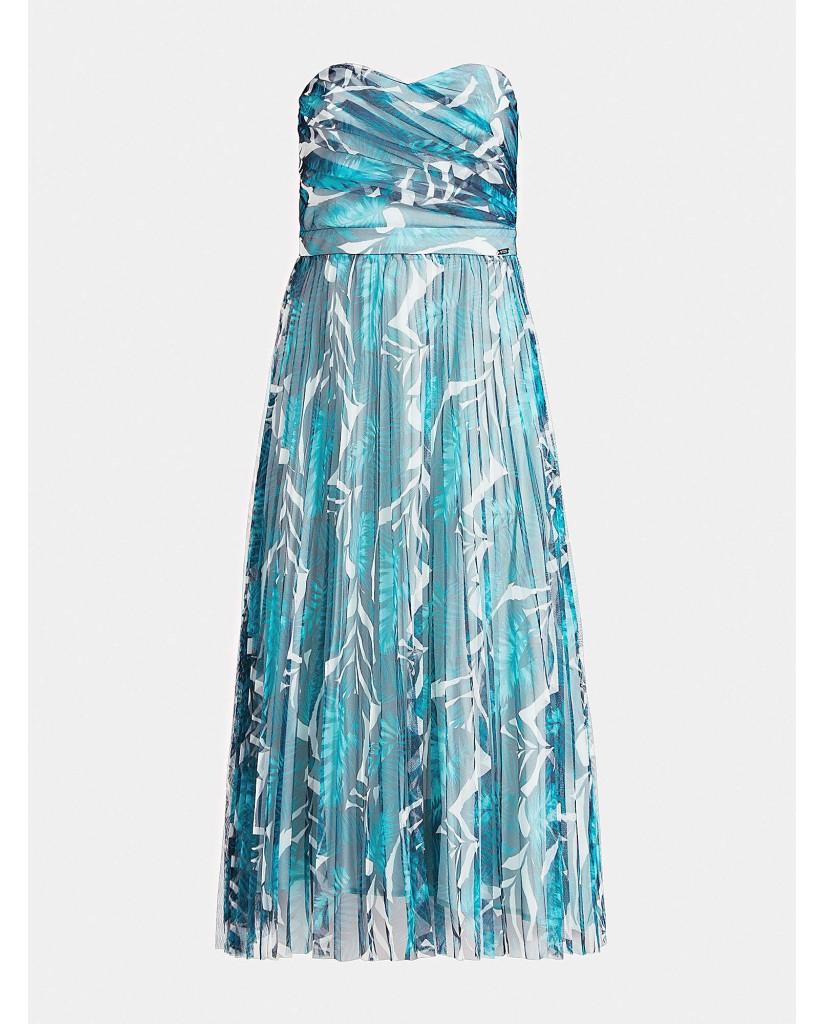 Guess Abiti   Monica dress Donna Verde Fashion