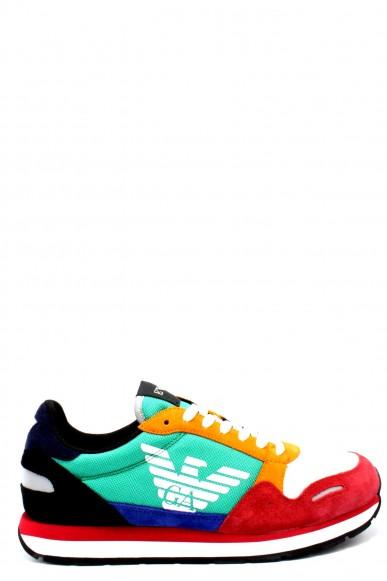 Emporio armani Sneakers   X4x215 xl200 ss18 ea Uomo Multicolor Fashion