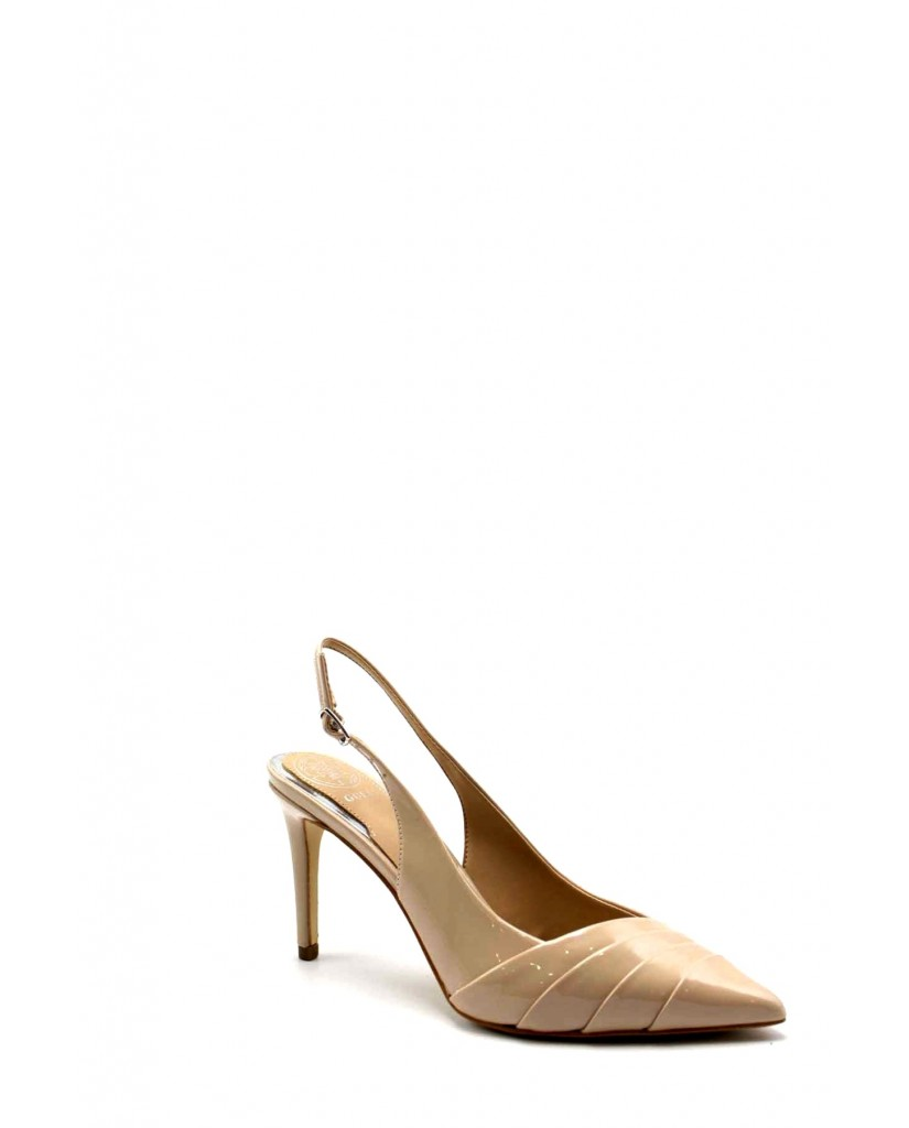 Guess Decollete F.gomma Balise2/sling back/leather lik Donna Taupe Fashion
