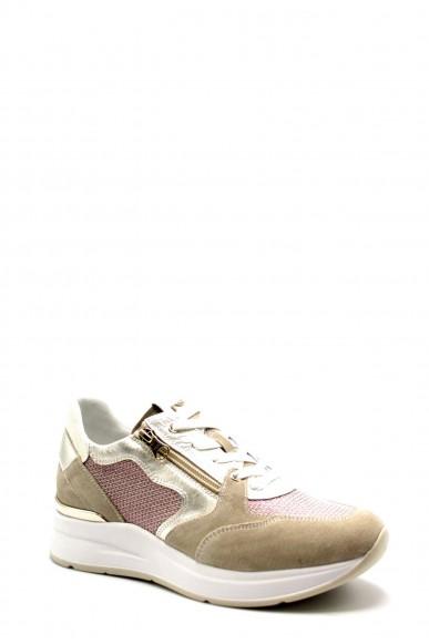 Nero giardini Sneakers Velour 111 ivory t.lierna 879 fuxia Donna