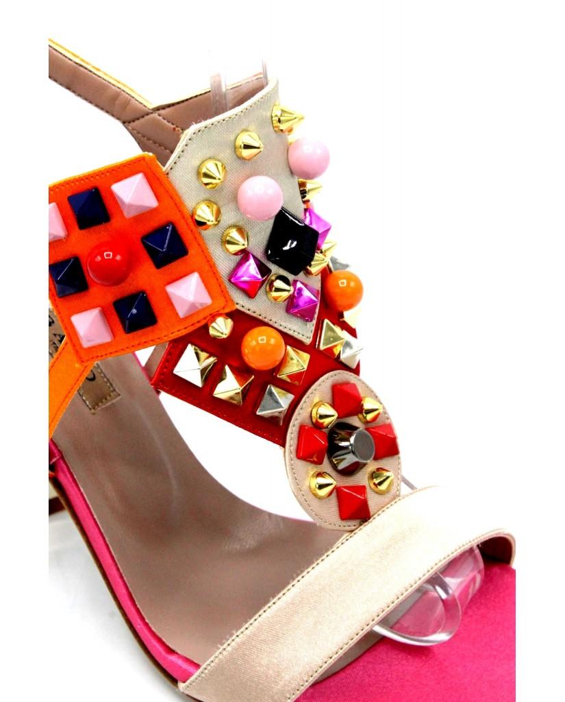 Albano Sandali F.cuoio 35/41 Donna Cipria Fashion