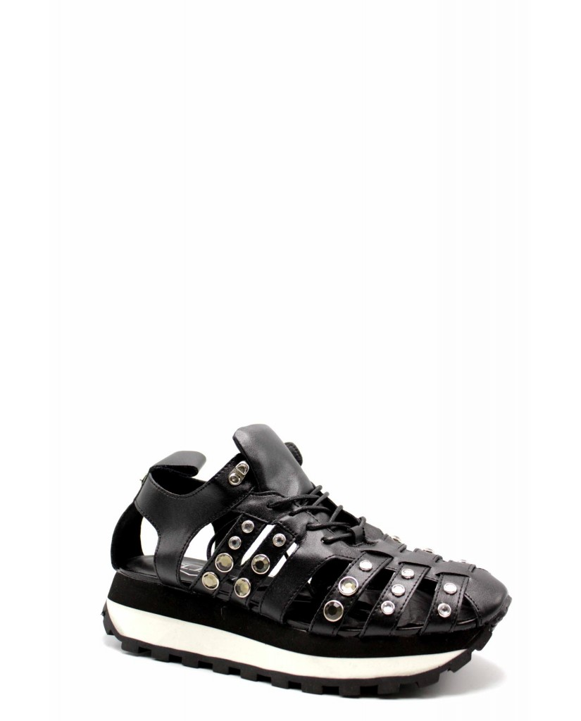 Cult Sneakers F.gomma Cle103988 Donna Nero Fashion