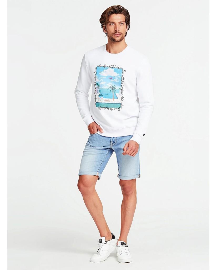 Guess Shorts   Sonny short Uomo Blu Fashion