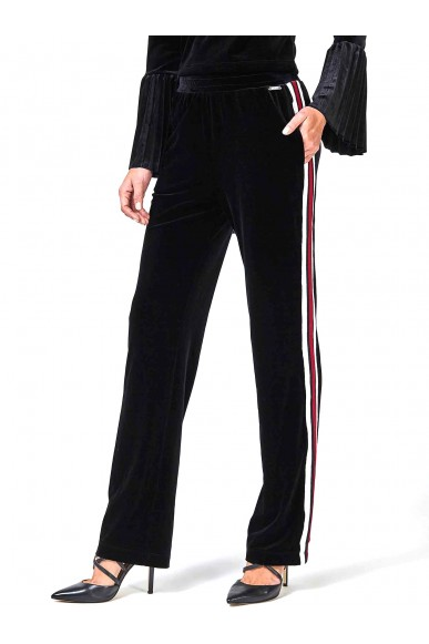 Guess Pantaloni   Rina pants Donna Nero Fashion