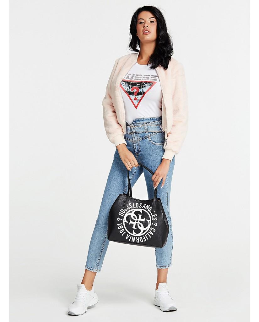 Guess Borse   Vikky tote Donna Nero Fashion