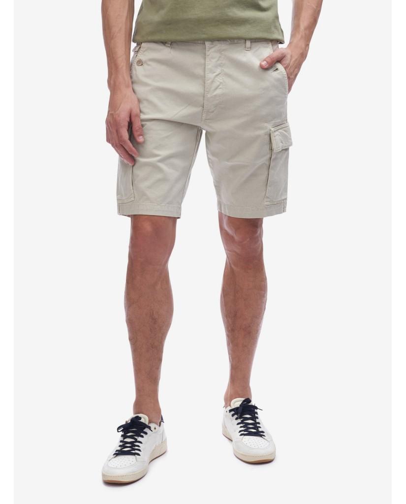 Blauer Bermuda   Pantalone corto cargo / tasconato Uomo Grigio Fashion
