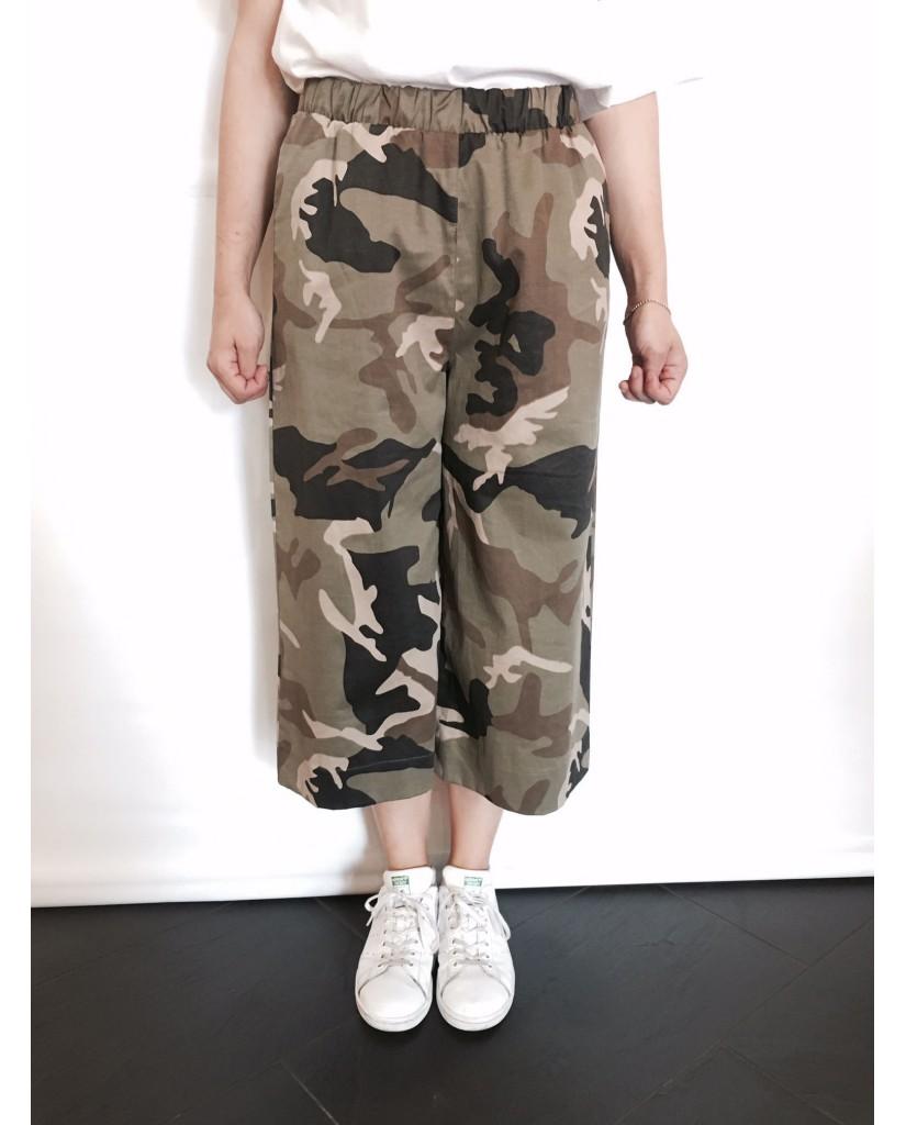 Berna Pantaloni Xs-s Donna Camouflage Fashion