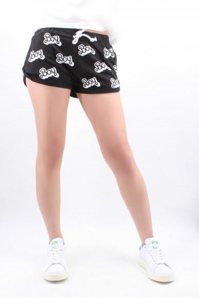 Boy london Shorts Donna Nero Casual