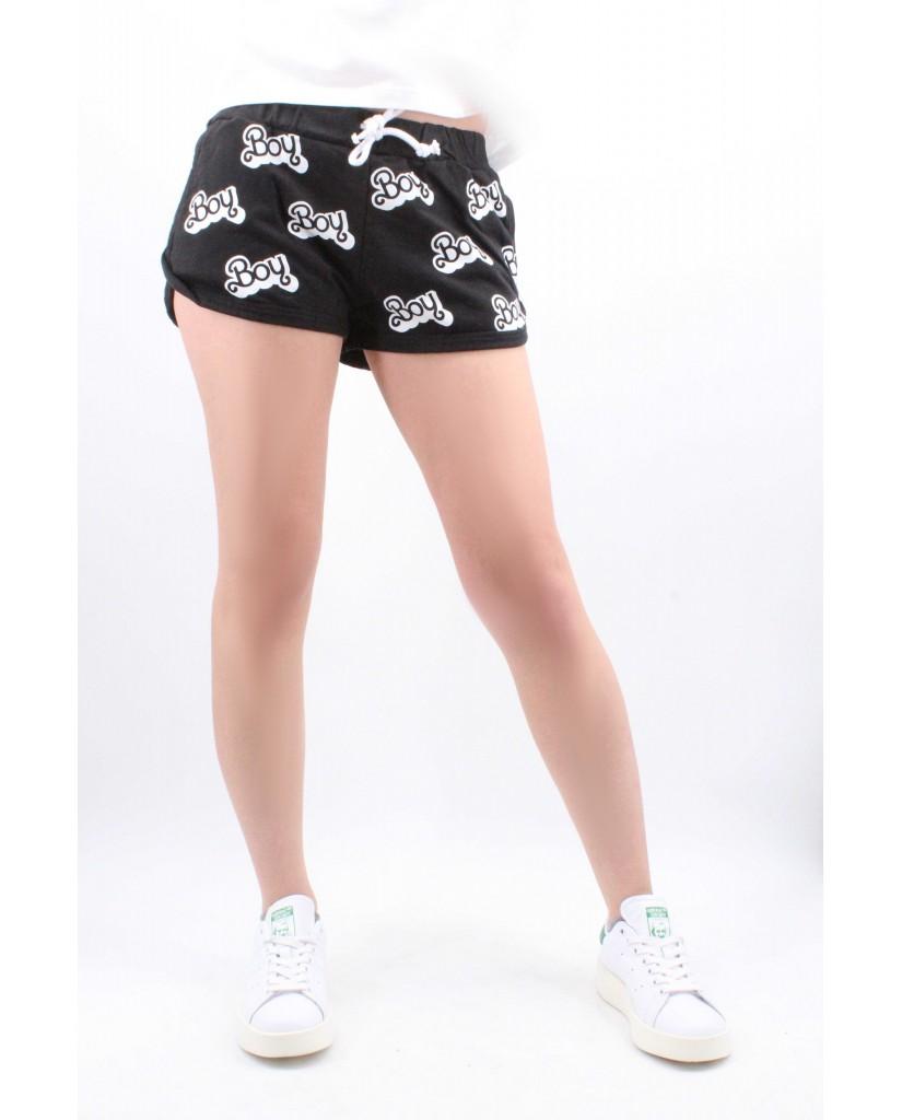 Boy london Shorts Donna Nero Casual