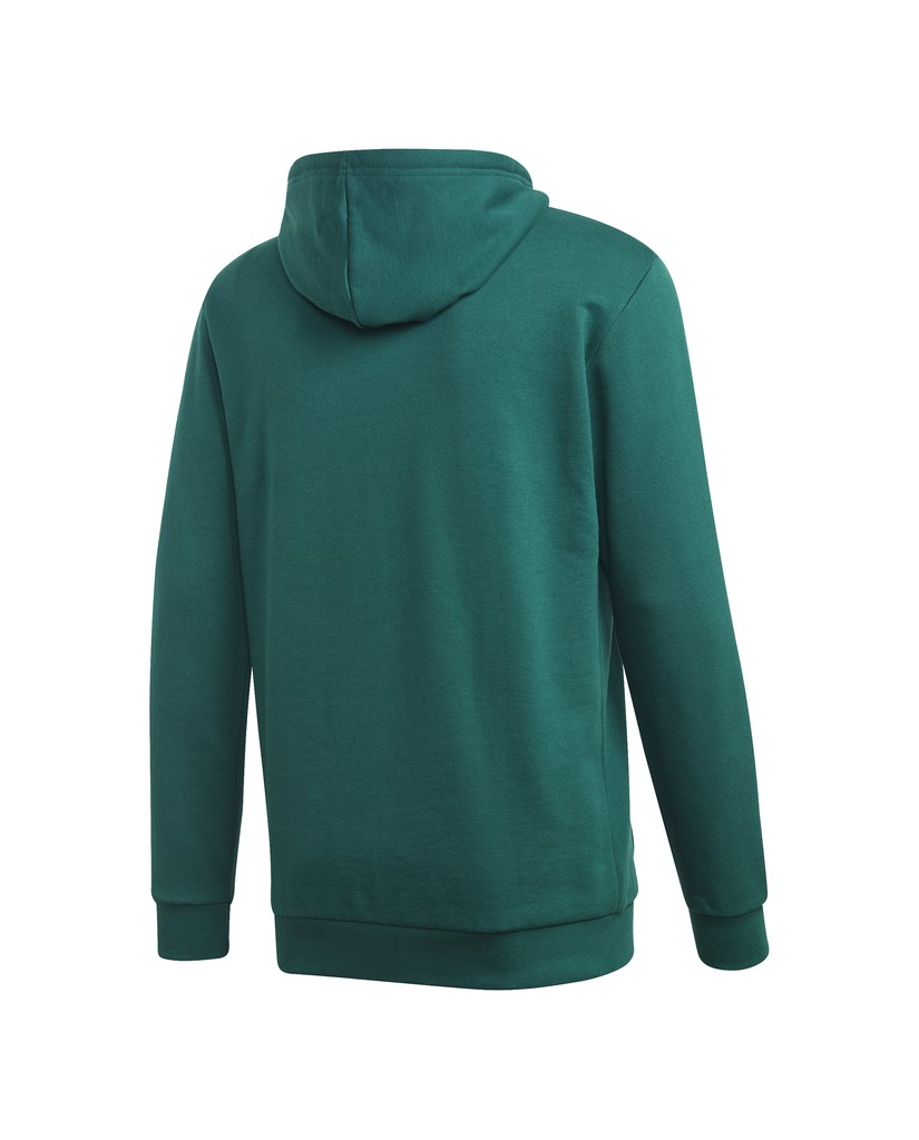 Adidas Felpe   Trefoil hoodie Donna Verde Streetwear