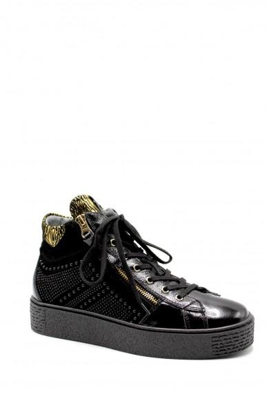 Nero giardini Sneakers F.gomma Naplak nero velour nero comix winte Donna Nero Casual
