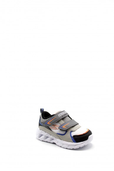 Skechers Sneakers F.gomma 22-26 90751n Bambino Grigio Fashion