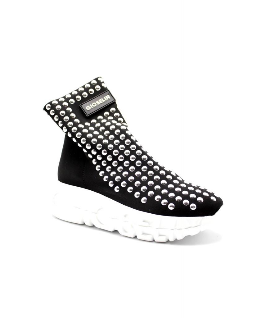 Gioselin Sneakers Donna Nero/argento