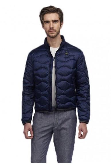 Blauer Giacchetti   Giubbini corti imbottito piuma Uomo Blu Fashion