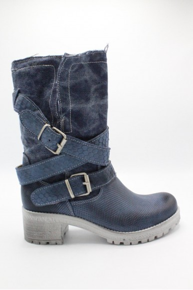 Euroshoes Tronchetti F.gomma Made in italy Donna Jeans Fashion