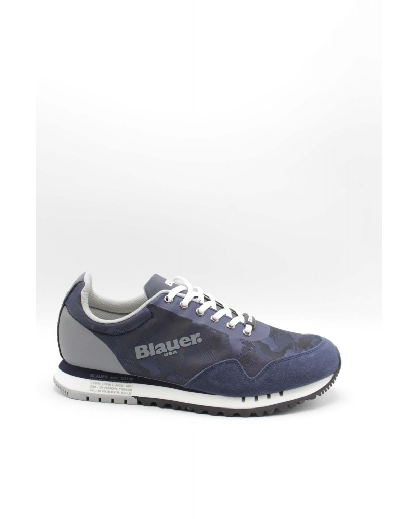 Blauer Sneakers F.gomma Denver06 Uomo Blu Fashion