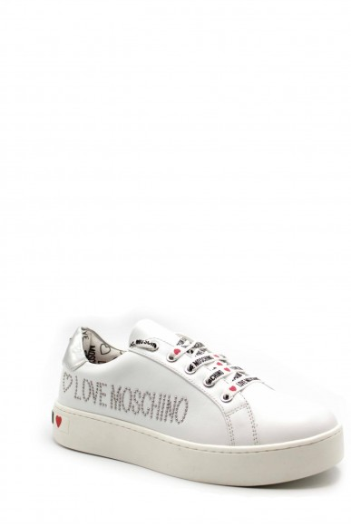 Moschino Sneakers F.gomma Ia0 Donna Bianco Fashion
