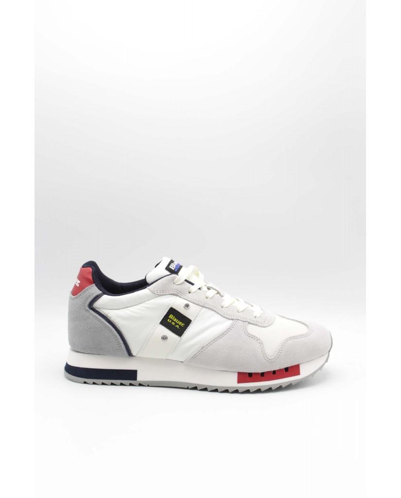 Blauer Sneakers F.gomma Queens01 Uomo Bianco Fashion