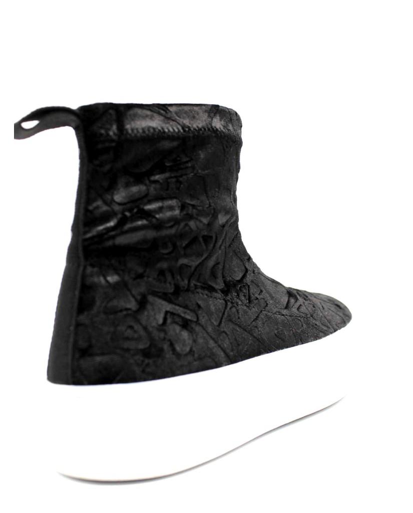 Ape pazza Sneakers F.gomma Ida Donna Nero Fashion