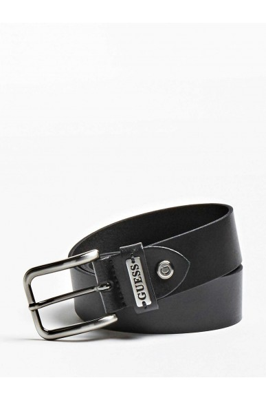 Guess Cinture   Not coordinated adjust. belt Uomo Nero Fashion