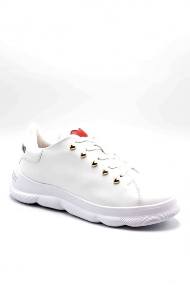 Moschino Sneakers F.gomma Sneakerd.camp40 vitello bianco Donna Bianco Fashion